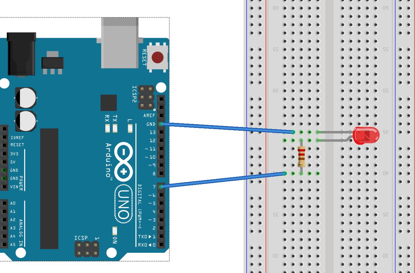 Arduino allumage d 39 une led d hoo - Comment allumer une chaudiere ...