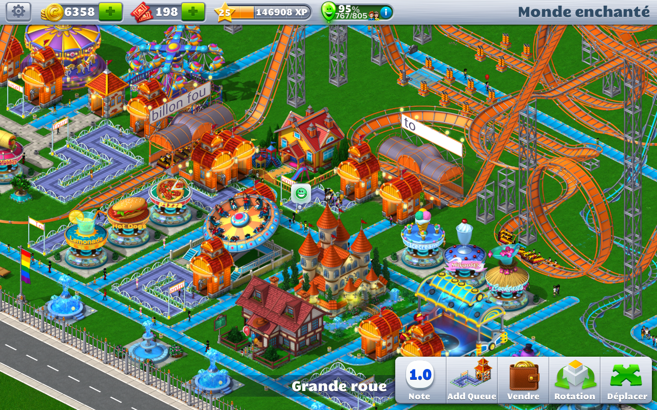 Extreme <b>Roller</b> <b>Coaster</b> <b>Tycoon</b> game (apk) free download…