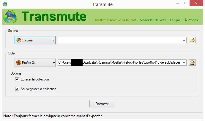 transmute - application