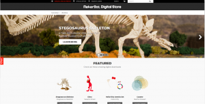 MakerBot's Digital Store